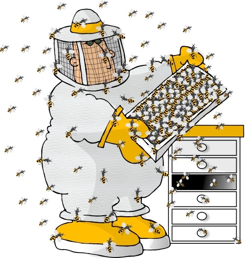cartoon-beekeeper