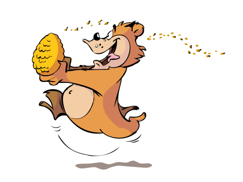 running-bear-with-honey