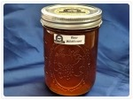 One Quart RAW honey
